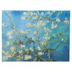 Bungalow Rose Almond Blossom' by Vincent Van Gogh Painting Print on Canvas