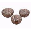 Bungalow Rose 3 Piece Basket Set