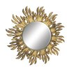 Bungalow Rose Shimmering Carved Wall Mirror