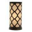 """Bungalow Rose D'Alger Appealing 17"""" Table Lamp with Drum Shade"""