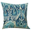Bungalow Rose Rayne Ikat Cotton Throw Pillow