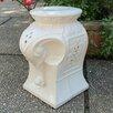 Bungalow Rose Tuntange Elephant Ceramic Garden Stool