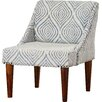 Bungalow Rose Gilmore Cotton Slipper Chair