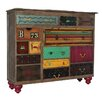 Bungalow Rose Ankara Mosaic 14 Drawer Treasures Accent Chest