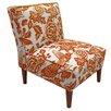 Bungalow Rose Fiona Tangerine Slipper Chair
