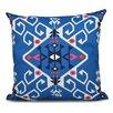 Bungalow Rose Oliver Jodhpur Medallion Geometric Outdoor Throw Pillow