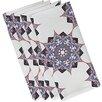 Bungalow Rose Oliver Rhapsody Geometric Print Napkin (Set of 4)