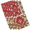 Bungalow Rose Oliver Free Spirit Geometric Print Napkin (Set of 4)