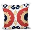 Bungalow Rose Oliver Boho Geometric Outdoor Throw Pillow
