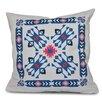 Bungalow Rose Oliver Jodhpur Border 4 Geometric Print Throw Pillow