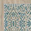 Bungalow Rose Saleya Turquoise Area Rug