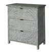 Bungalow Rose Wilshire 3 Drawer Pattern Chest