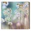 Bungalow Rose Flower Garden Graphic Art on Wrapped Canvas