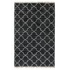 Bungalow Rose Kalivody Hand-Knotted Charcoal Area Rug