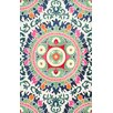Bungalow Rose Ilhan Hand-Tufted Green Area Rug