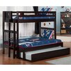 Viv + Ro Cascade Twin over Full Bunk Bed with Trundle