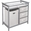 Viv + Rae Sawyer Avery Changing Table with 3 Baskets and Hamper