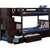 Viv + Rae Margery Twin Bunk Bed with Storage