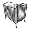 Viv + Rae Fuqua Metal Convertible Crib with Mattress