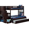 Viv + Rae Edwardo Twin over Full Bunk Bed with Staircase and Trundle