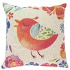 Viv + Rae Clem Bird and Flowers Throw Pillow
