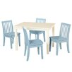 Viv + Rae Liam 5 Piece Rectangle Table and Chair Set