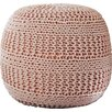 Viv + Rae Ramon Color Cable Knit Ottoman