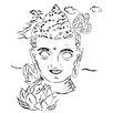 "Heartelier Kunstdruck ""buddha"" 20 cm H x 20 cm B"