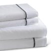 Westport Home Circle Link 300 Thread Count 100% Cotton Sheet Set