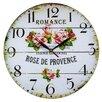 Obique Wanduhr Rose de Provence 34 cm