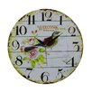 Obique 34cm Bird Wall Clock
