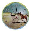 Obique 28cm Wild Horses in Desert Wall Clock