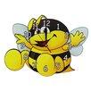 Obique Bee Wall Clock