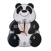 Obique Panda Wall Clock