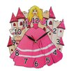 Obique Princess and Castle Wall Clock