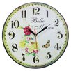 Obique 34cm Belle Maison Wall Clock