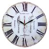 Obique 34cm Cutlery Wall Clock
