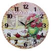 Obique 34cm Flower Vase and Greek Wall Clock