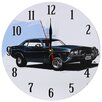 Obique Nostalgic Retro 28cm Cruising Black Car Wall Clock
