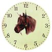 Obique 28cm Pony Head Wall Clock