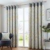 Fusion Home Furnishings Copeland Curtain Panel (Set of 2)