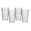 Artland 4 Piece 15 Oz. Beer Pub Glass Set