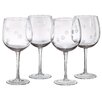 Artland Polka Dot Balloon Wine Glass (Set of 4)