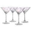 Artland Polka Dot Martini Glass (Set of 4)