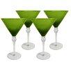 Artland Pebbles 10 Oz. Martini Glass (Set of 4)