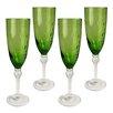 Artland Pebbles Flute Glass (Set of 4)