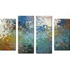 Picture Perfect International 'My Protector' by Mark Lawrence 4 Piece Painting Print on Wrapped Canvas Set