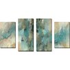 """Picture Perfect International """"Vital Intercession"""" by Mark Lawrence 4 Piece Painting Print on Wrapped Canvas Set"""