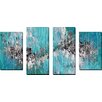 """Picture Perfect International """"I Desire Only You"""" by Mark Lawrence 4 Piece Painting Print on Wrapped Canvas Set"""