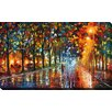 "Picture Perfect International ""Unreal Senses"" by Leonid Afremov Painting Print on Wrapped Canvas"